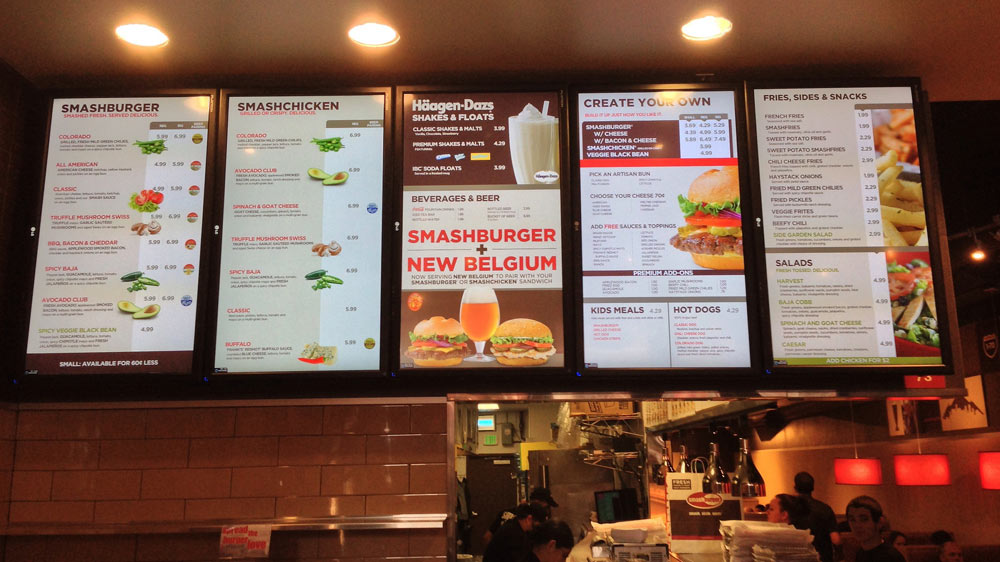digital menu board software